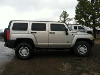 2009 Hummer H3--2nd Owner--60,000 miles--Black, cloth
