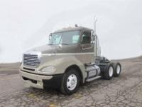 2004 Freightliner Columbia tandem axle day cab tractor.