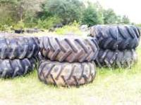 23.1X 26 and 28.1 X 26 logger tires and farm tires for