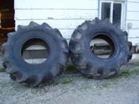23.1 x 26 rice tractor tires 95% tread $1000 Firm.