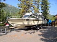 Please call owner Ron at . Boat is in Tahoma,