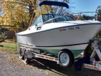 Please call owner Rich at . Boat is in Westhampton, New