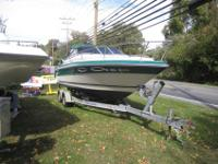 Right here we have a 23' 1987 Sea Ray S-24 Boat W/ '07