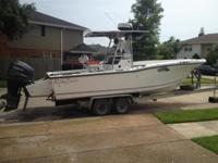 Please call owner Louis at . Boat is in Kenner,