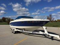 Please call owner Jean at  or . Boat is in Green Bay,