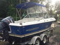 23' 2002 Aquasport Osprey in great condition.  Powered