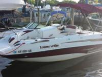 Please call owner Nedelka at . Boat is in Bay Shore,