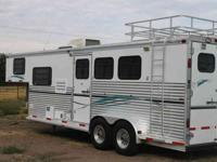 2000 SilverLite Living Quarter eight short wall A C,