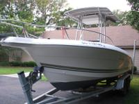 Beautiful boat for fishing or family fun. 2006 Mercury