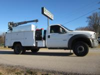 Ford F-550 4x4, 9' Utility / Service / Lube Truck,