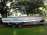 Immaculate 2001 24ft key largo (23.6) with extra long a