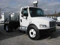 2005 Freightliner M-2 single axle tractor. Mileage is