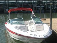 2005 CROWNLINE 216 LS FEATURING A POWERFUL AND FUEL