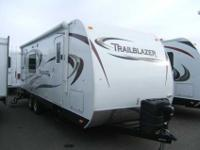 2013 KOMFORT TRAILBLAZER 24' , WHT/TRACKSTOPP, two
