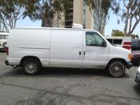This INSULATED REEFER van has low mileage and is ready