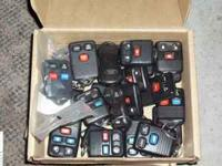 23 Ford/Lincoln/Mercury keyless entry remotes. Some
