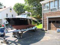 This1966 Chris Craft was totally modified in 1997 with