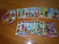 There are 11 Junie B. Books, 10 Powder Puff Girls Books