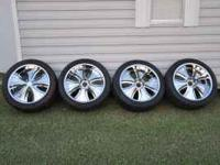 for sale a set of 23in. 6lugs chrome wheels for a chevy