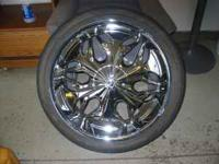 23 inch wheels 800 obo will fit chevy gmc truck suv 6