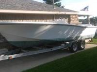 Have a 23' 1974 Mako Center Console boat for sale.