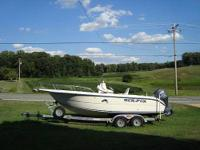 Call Boat owner Lester  .Description: Center console,