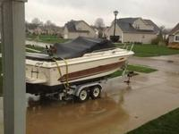 23' 1986 Sea Ray Cuddy 230. Boat is in excellent shape