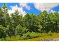 A 1.79 acre lot in the gated community of Mountain