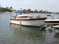 This is a 1968 Tollycraft 23? cabin curser.   The