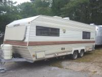 1989 23FT LAYTON TRAILER FOR SALE INCLUDES HITCH PARTS