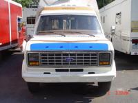 SELLING MY DADS MOTORHOME 1982 23 VANGUARD E-350 FORD