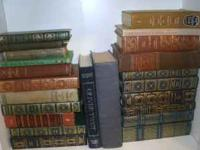23 vintage books all from diffrent ages... most are in