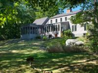Near town with 320' of waterfront on the Damariscotta