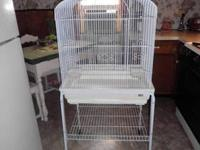 We have a used, but like-new white Victorian Cage. It
