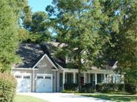 Gorgeous One-Story Lowcountry Custom constructed