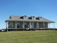 Gorgeous 3 bedroom ranch style home sitting on 20 acres