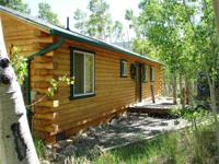 SECLUDED LOG CABIN WITH NAT'L Secluded log cabin has