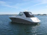 This 39? Sea Ray 38 Sundancer built in 2006 is located