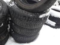 I have 4 snow tires Blizzak  235/50r18 50% good tread