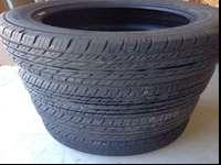 Full set of Toyo Tourevo tires for sell. These tires