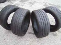 These tires are in good condition with 9/32 tread