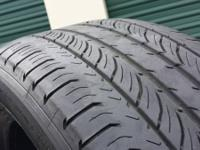 I have( 5)tires in very good condition size 235/55/18