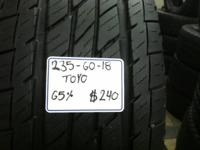 I Have actually A Used Set Of 4 (235-60-18) TOYO