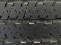 WE HAVE A SET OF 4 GOOD USED 235/60R17 BRIDGESTONE