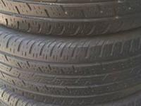 Hello viewers i am here selling. 4 235/65/16 tires for