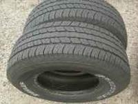 2 tires good tread call or text  ford chevy dodge gmc