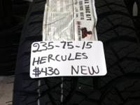 I Have A Collection Of 4 (235-75-15) HERCULES NEW TIRES