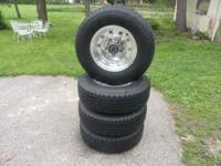 I have a set of 4 Goodyear Wrangler HT 235 75 15 tires.