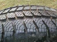 4 like-new Green Diamond winter tires, they are great