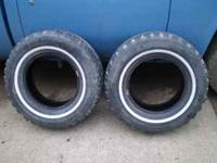 I have a pair of 235/75 R15 Wintermark Mud & Snow